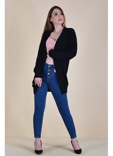 Butikburuç Salaş Model Kadın Triko  Siyah